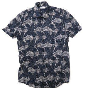 Bikkembergs Button Shirt Hawaiian S/S Mens Medium
